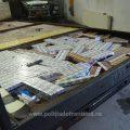 Țigări de contrabandă, transportate cu autoutilitara