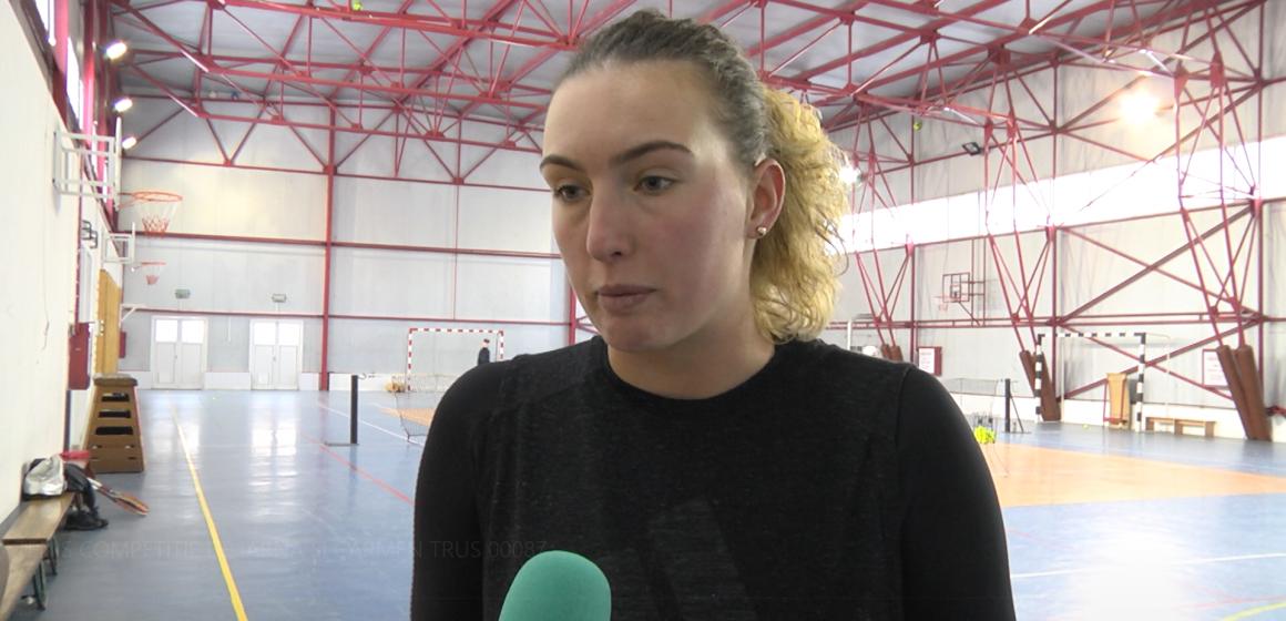 Video|Tenismena Carmen Truș nu renunță la antrenamente nici măcar în vacanță