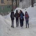 Cavnicul, sufocat de zăpadă. Copiii nu merg la școală