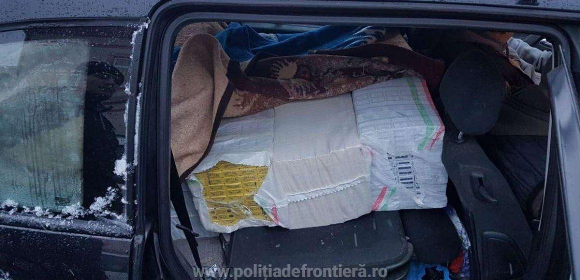 Peste 22.000 de pachete cu țigări de contrabandă au fost confiscate