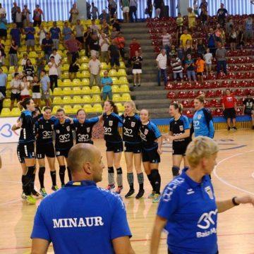 """Victorie pentru fetele de la Minaur în primul meci de la Memorialul """"Tomas Jakubco"""""""
