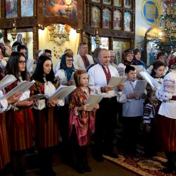 VIDEO | Un eveniment de suflet la Biserica ortodoxă ucraineană din Sighet