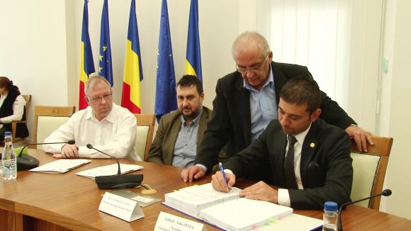 Video|S-a semnat contractul de proiectare și execuție pentru Drumul Nordului