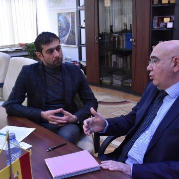 VIDEO | Jose Arnau Uson, consulul onorific al Spaniei, în vizită de lucru în Maramureș