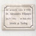 Placă memorială pentru Alexandru Filipașcu