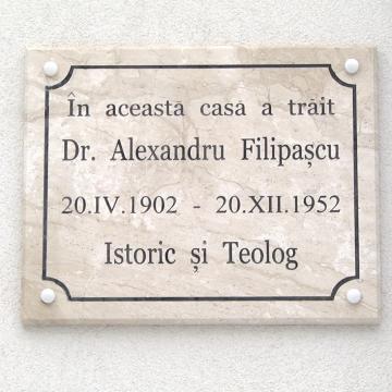 VIDEO | Placă memorială pentru Alexandru Filipașcu