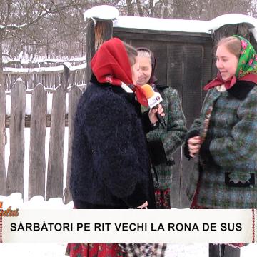 Video Sărbători pe rit vechi la emisiunea Zestrea Maramureșului