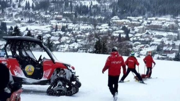 VIDEO   Girofaruri pentru salvamontiști