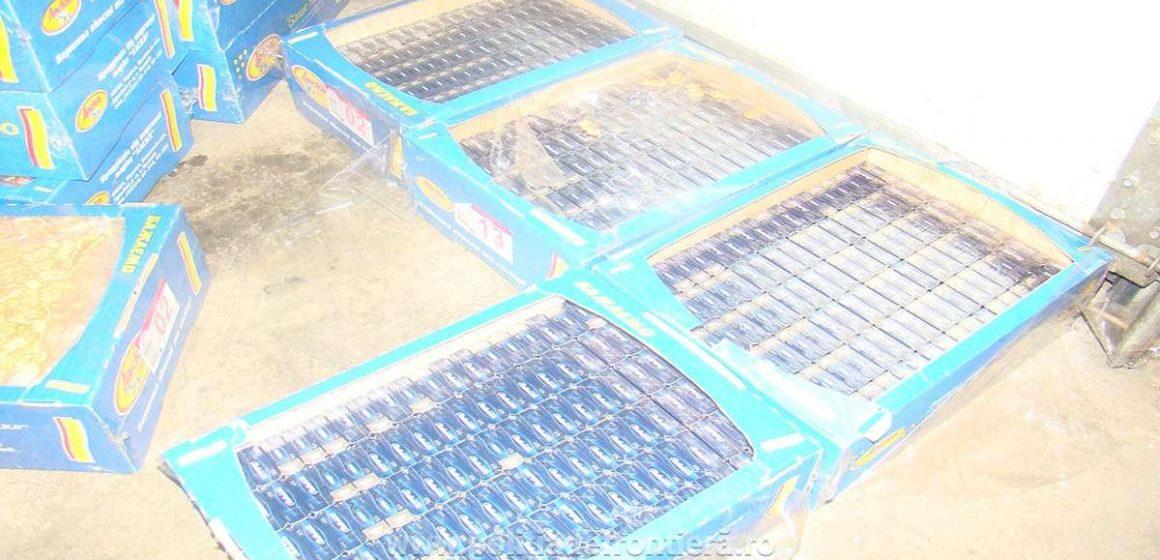 VIDEO | Prins cu țigări de contrabandă în cutii de prăjituri