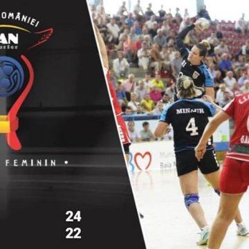 VIDEO – Fetele de la CS Minaur, eliminate după primul meci din Cupa României