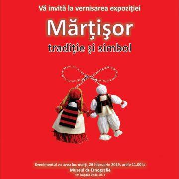 Expoziție în scop caritabil: Mărțișor-tradiție și simbol