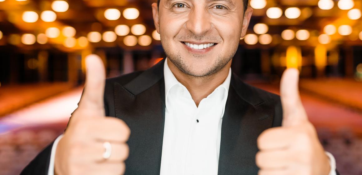 Un actor are toate şansele să devină preşedintele Ucrainei