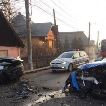 Trafic blocat din cauza unui accident în Tăuţii de Sus