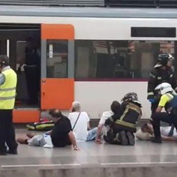Doi români răniţi în accidentul feroviar de lângă Barcelona