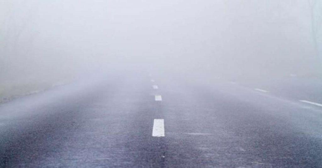 VIDEO | Vizibilitate redusa de ceata pe majoritatea sectoarelor de drumuri nationale