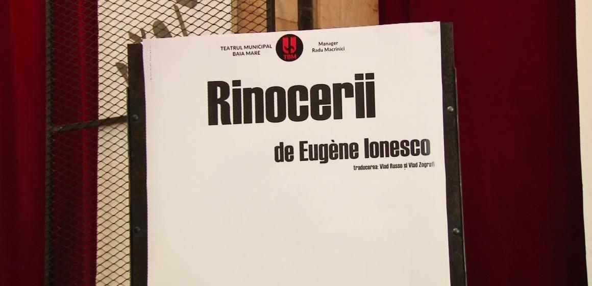VIDEO | A doua premieră la Municipalul băimărean, un spectacol de Eugene Ionesco