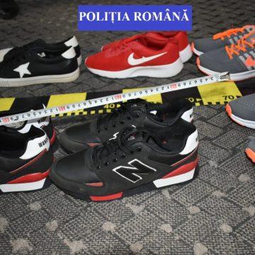 Produse contrafăcute confiscate de polițiști