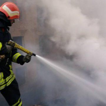 VIDEO | Cadavru carbonizat găsit în Sighet, într-o locuință improvizată care a luat foc