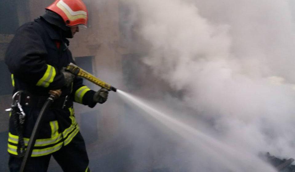 Incendiu devastator la o gospodărie din Dămăcușeni