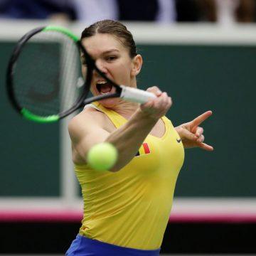 Simona Halep a salvat România la Fed Cup
