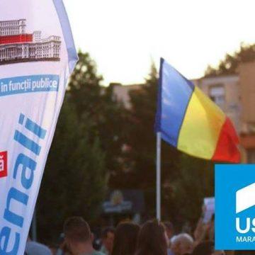 VIDEO | USR iese în stradă la proteste, în semn de solidaritate cu magistrații