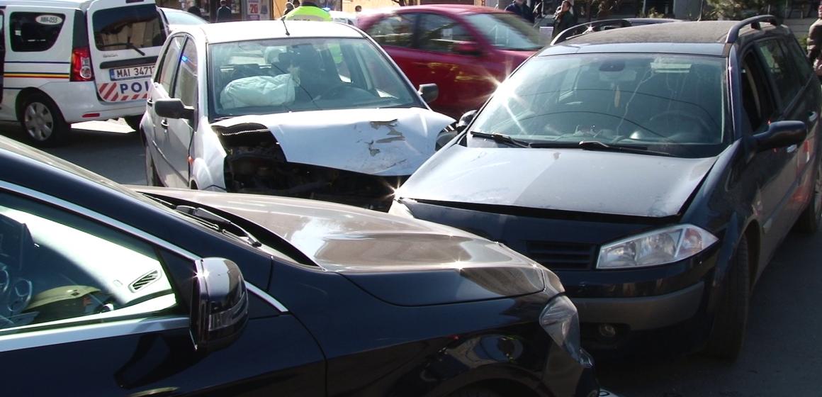 VIDEO | Accident rutier grav în Baia Mare