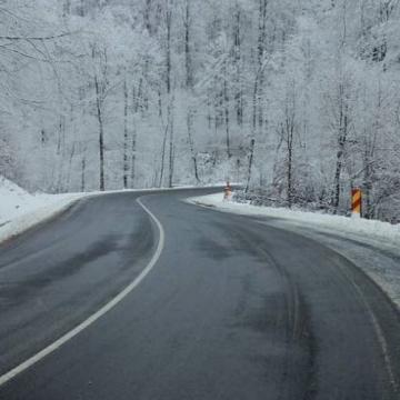 Atenţie şoferi, ceaţă densă în Pasul Prislop