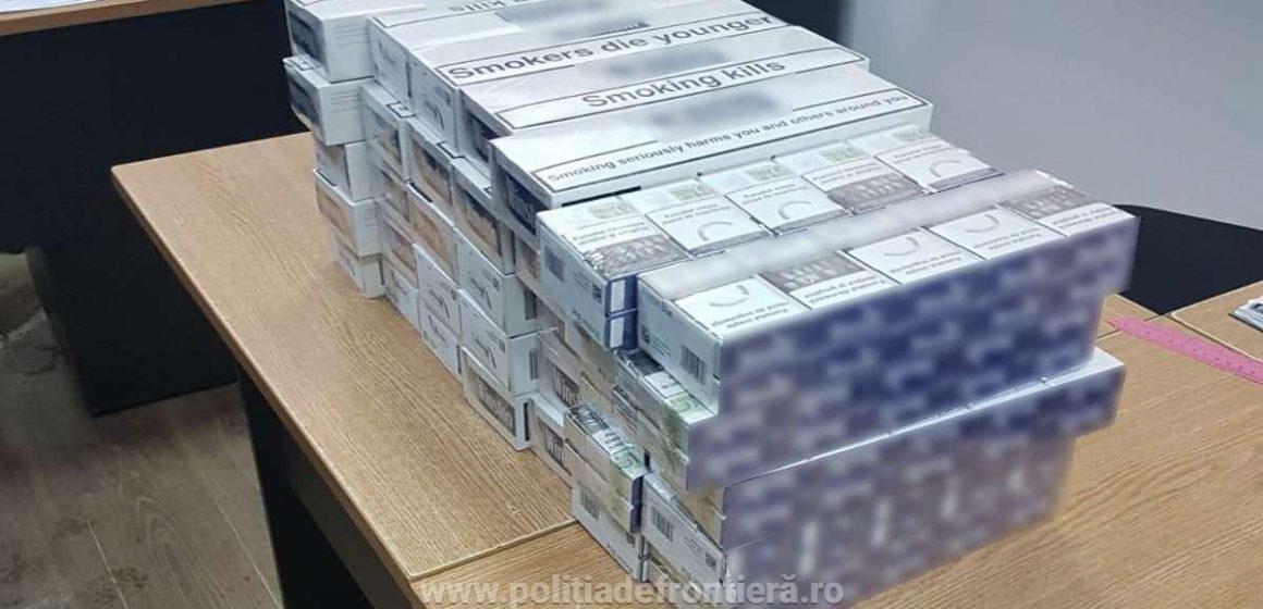 Voiau să ajungă la Londra cu țigări de contrabandă