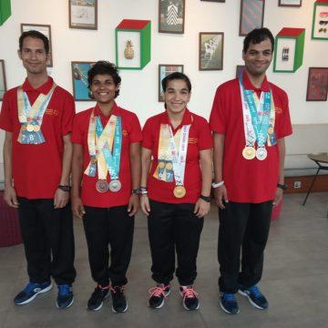 Cinci medalii câștigate de tinerii maramureșeni din sistemul de protecție specială la Jocurile Mondiale de Vară Special Olympics, Abu Dhabi 2019
