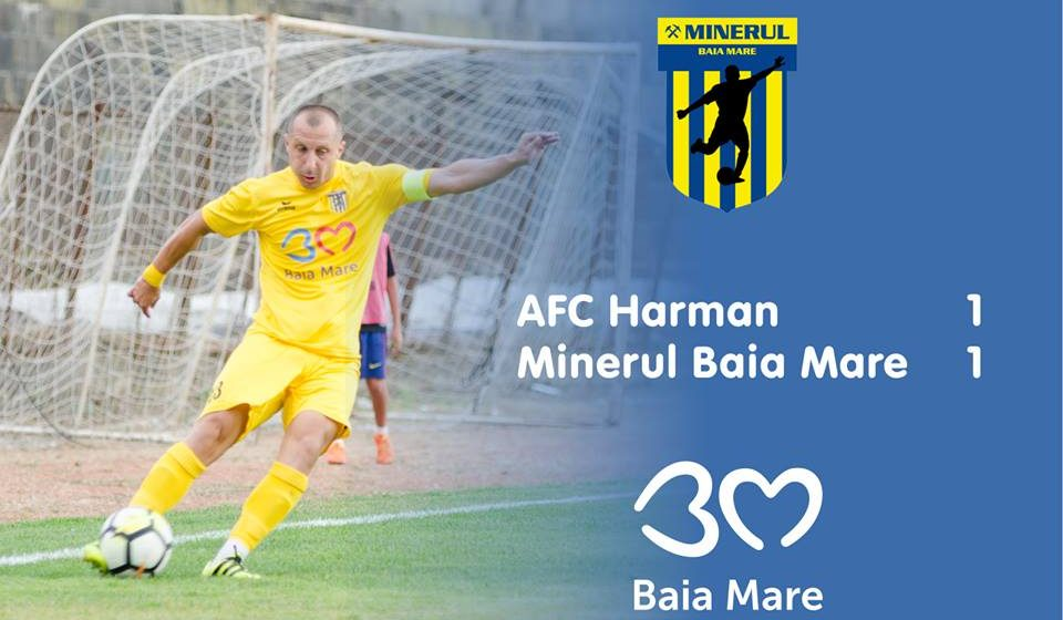 Minerul Baia Mare egal cu AFC Harman