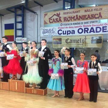 Argint, bronz și două finale pentru Prodance 2000 la Cupa Oradea