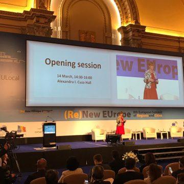 Președintele CJ Maramureș, Gabriel Zetea, participă la Summit-ul Regiunilor și Orașelor din București