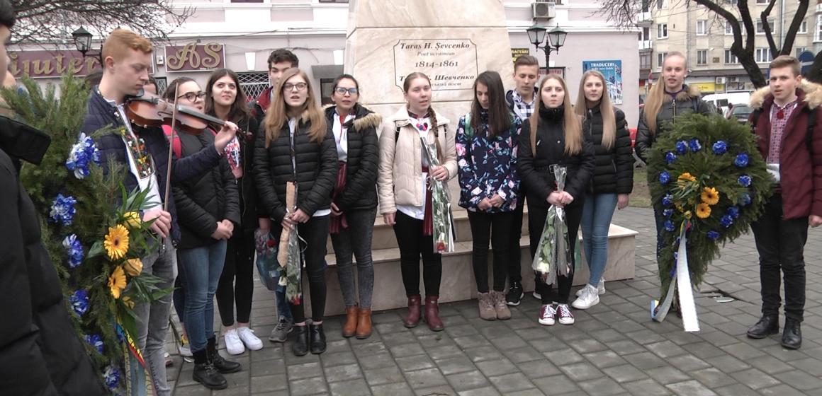 Video Taras Șevcenko, comemorat la liceul care îi poartă numele