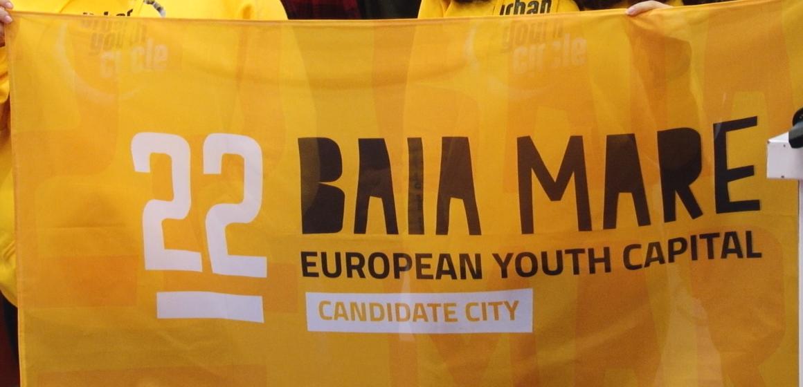 VIDEO | Baia Mare este în finala pentru Capitala Europeană a Tineretului 2022