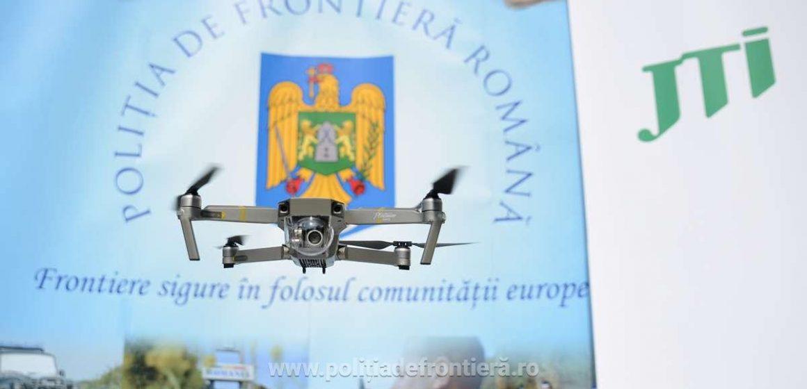 VIDEO | Drone de ultimă generație pentru combaterea contrabandei cu țigări, în dotarea poliției de frontieră