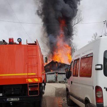 Garaje în flăcări