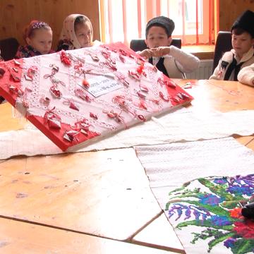 VIDEO | Ziua mărțișorului sărbătorită la Budești