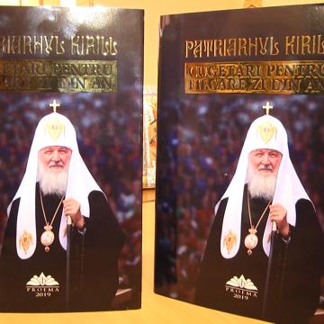 VIDEO | O carte a Patriarhului Kirill al Rusiei va fi lansată la Sighet