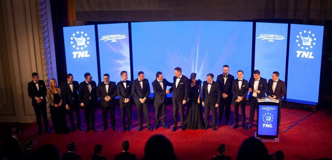 """Tinerii liberali maramureșeni – premiați la Gala Premiilor TNL """"Mircea Ionescu Quintus"""""""