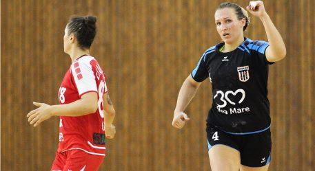 VIDEO | Handbalistele de la CS Minaur s-au întors victorioase de la Debrecen