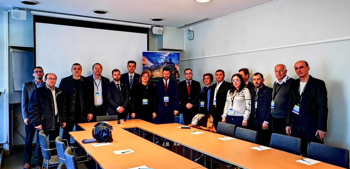 GALERIE FOTO | Delegații Consiliului Județean la Adunarea Regiunilor Europene s-au întâlnit cu oficiali din Suedia