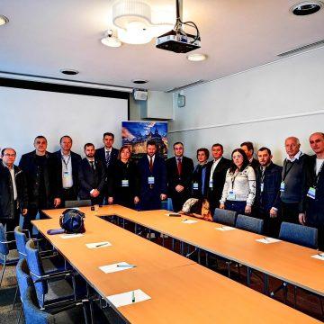 GALERIE FOTO   Delegații Consiliului Județean la Adunarea Regiunilor Europene s-au întâlnit cu oficiali din Suedia