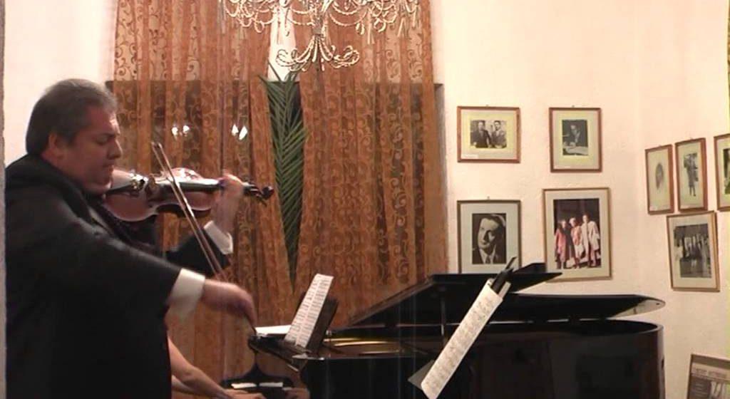 Recital extraordinar la Sighet al violonistului Florin Ionescu–Galați