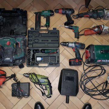 A furat scule electrice dintr-o hală, dar a fost prins
