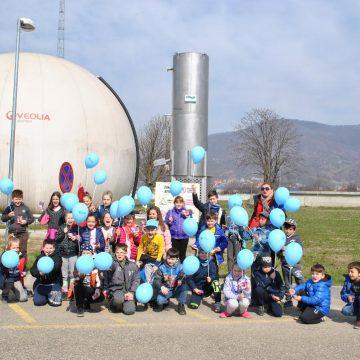 VIDEO | Sute de elevi au mers să vadă stația de epurare a apelor uzate