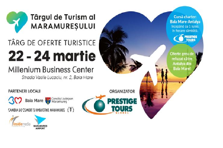 Turoperatorul Prestige Tours organizează alături de agențiile de turism și autoritățile locale prima ediție a Târgului de Turism al Maramureșului