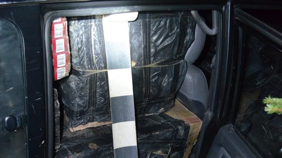 Aproximativ 32.000 de pachete cu țigări de contrabandă, confiscate la frontiera de nord a României