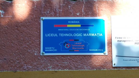Un liceu din Sighet, prezentat ca exemplu de bune practici la o reuniune la care au fost și experți din UE