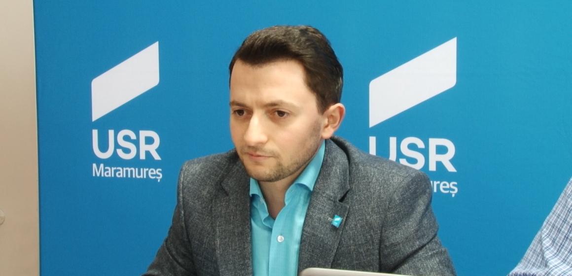 VIDEO   Deputatul USR Vlad Duruș i-a cerut Guvernului să nu-și mai bată joc de maramureșeni în privința Autostrăzii Nordului