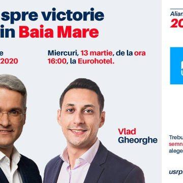 Drumul spre victorie trece prin Maramureș! Candidații Alianței 2020 USR – PLUS vin în Baia Mare